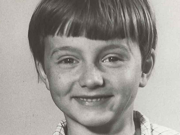 Timothy Jacob Jensen at the age of 10