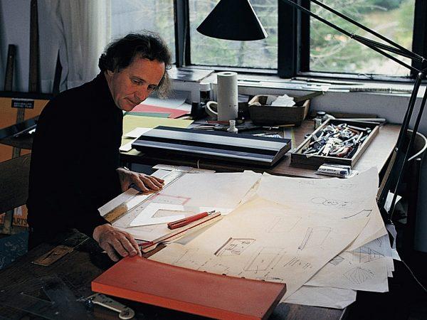 Jacob Jensen working in the legendary danish design studio Hejlskov Denmark