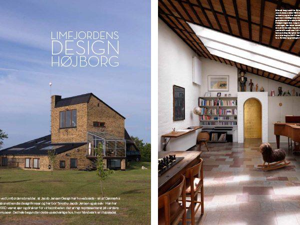 Timothy Jacob Jensen Studios Bo Bedre magazine press feature