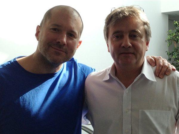Jonathan Ive Apple chief designer and Timothy Jacob Jensen