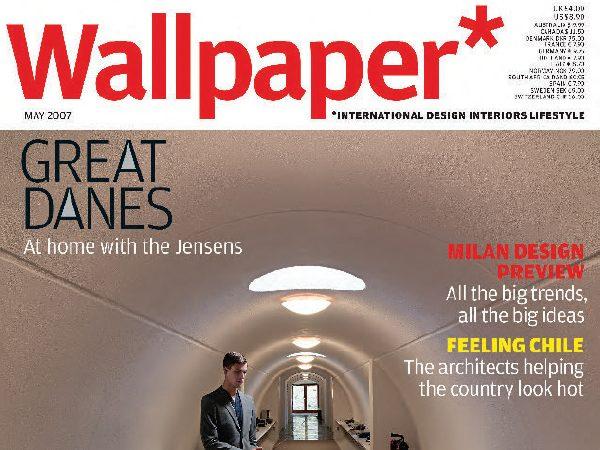 Timothy Jacob Jensen Studios Wallpaper magazine press feature