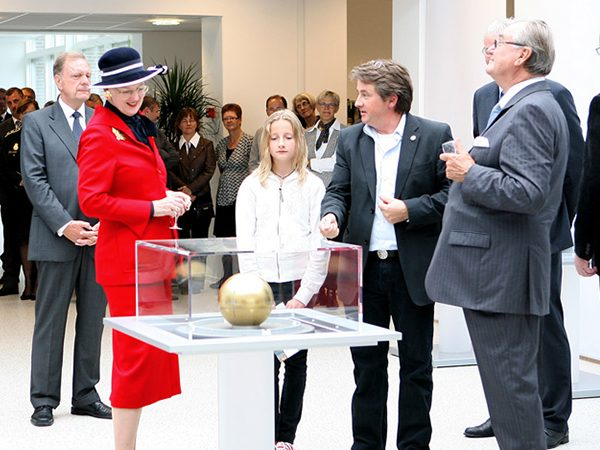Queen Margrethe II of Denmark, Toko Timothy and Prince Henrik Skive ceremony